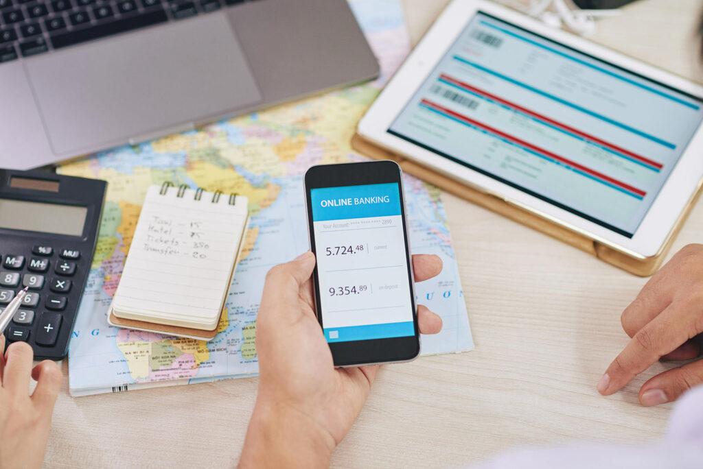 Onling banking app